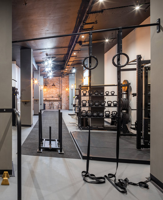 On site gym changes the way the office works with body & mind